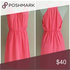 NWT Silk Dress - Madewell Absolutely gorgeous pink silk dress from Madewell. Has front pockets! Originally $150!!!  I ship same or next day! Madewell Dresses