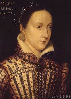 Francois nach Clouet - Miniature of Mary Queen of Scots