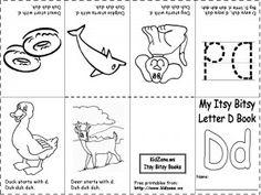 First grade gardeners books kindergarten and homeschool literacy alphabet booklet preschool printable fandeluxe Gallery