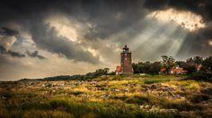 A Lighthouse on Bornholm, Denmark.