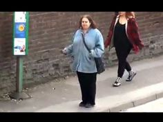 "We are slightly in love with this woman. Dancing while waiting for her bus.     ""You've gotta dance like there's nobody watching,  Love like you'll never be hurt,  Sing like there's nobody listening,  And live like it's heaven on earth.""  #DancingQueen"