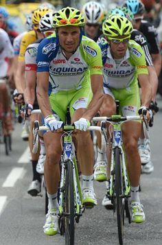 SpiderTech sponsored Team Cannondale rider Ivan Basso (Liquigas-Cannondale)