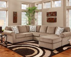 Jesse Cocoa Sectional - Bills Brothers