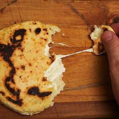 Cheese-Stuffed Colombian-style Arepas Recipe