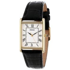 The classic style and everyday practicability of this Seiko will ensure that you can both keep the time and look your best. The elegant look of this timepiece allows it to be worn with any casual or professional look. ...more