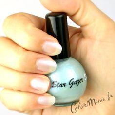 Vernis à Ongles Bleu Pastel Micro Glitter - Stargazer   Color-Mania (http://www.color-mania.fr/boutique/vernis-a-ongles-bleu-pastel-micro-glitter-nail-art/)