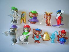 Tom Jerry 98 Kinder Surprise Figures Set Hanna Barbera Figurines Collectibles | eBay