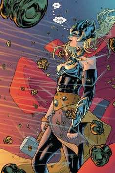 Russell Dauterman is an illustrator and character designer, best known as the artist of the Marvel comic book series, THE MIGHTY THOR. Marvel Comics Art, Marvel Women, Marvel Girls, Marvel Dc Comics, Marvel Heroes, Marvel Avengers, Comics Girls, Comic Book Characters, Marvel Characters