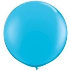 Robins Egg 90CM Round Jumbo Latex Balloons online at Little Boo-Teek! What's a party without balloons! Make a statement with our gorgeous range of supersized jumbo latex balloons - available in an array of colours online at Little Boo-Teek! Shop boutique party supplies now - Express Shipping Australia Wide