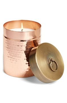 Copper candle (at the Nordstrom Anniversary Sale!)