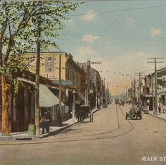 Main Street, Cape Girardeau, Missouri, 1900. :: Postcard Collection