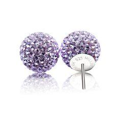 Diamond Studs, Balls, Sparkle, Bling, Necklaces, Stud Earrings, Colours, Jewels