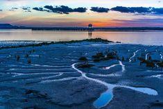 Atardecer en el Muelle de Tharsis, desde la Glorieta Norte Huelva, Andalucía, Spain Andalusia, River, Outdoor, Boat Dock, Norte, Tourism, Trips, Lugares, Pictures