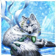 Beautiful Wolf by SheltieWolf.deviantart.com on @DeviantArt