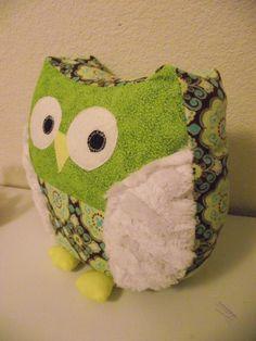 Snuggly Owl by honeybee design | Sewing Ideas