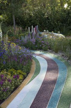 Landscape Elements, Landscape Materials, Urban Landscape, Landscape Architecture, Lanscape Design, Paving Pattern, Paver Designs, Park Playground, Plant Design