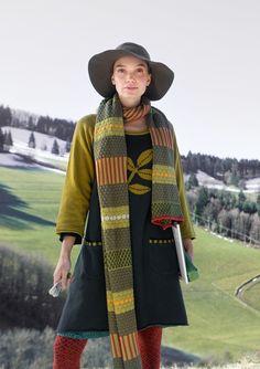 """Tunique en laine """"Leaf""""–Blouses & gilets–GUDRUN SJÖDÉN – Kläder Online & Postorder"""