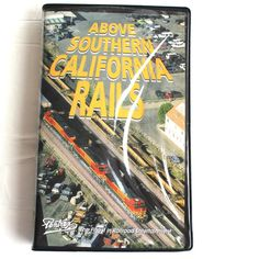 Above Southern California Rails VHS Tape Helicopter Photography Trains Railroads