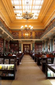 The National Art Library in the Victoria and Albert Museum, London