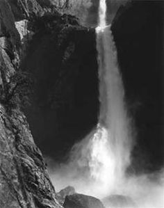Ansel Adams: Lower Yosemite Fall