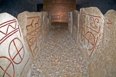The Kivik grave in Sweden dates back to the Bronze Age. It is also sometimes referred to as the Nordic Tutankhamon, because of the beautiful rock carvings inside the grave and the size of the grave in general.