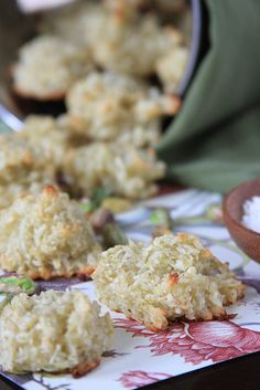 Cardamom-Pistachio Coconut Macaroons by Jeff and Erin's pics, via Flickr
