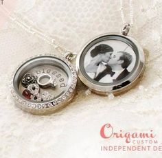 Celebrate your marriage! Origami Owl