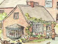 Tasha Tudor, village shop