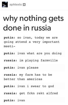 I like to think this is actually what's happening and Belarus keeps sending him friend request s lol:
