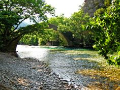 TRAVEL'IN GREECE | River Voidomatis, The bridge of Kleidonia, #Epirus, #Greece, #travelingreece