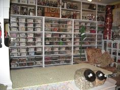 OMGoodness! My goal for my hobby room!