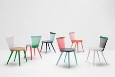 WW chair Colour Series - by Studio Makgill