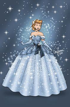 art disney fashion design princess sparkles the little mermaid ariel Aurora cinderella Sleeping Beauty fan art snow white Disney Princess artists on tumblr gowns Walt Disney Animation Studios cory jensen Disney fan art
