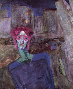 Nocturne ~ Umberto Boccioni 1911