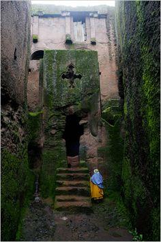 Monolithic Christian Church, Lalibela, Ethiopia