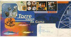 Monumento: Torre Vasco da Gama, Lisboa, Portugal. 14 de Junho de 1998 .