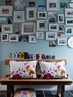 Photo frames wall
