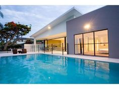 SAPPHIRE WATERS, a Gold Coast Waterfront house | Stayz $2940 week 8 beds 3 bathrooms spa bath Walk to beach One.5