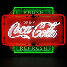 Wholesale Lot 3 Neon Sign Coca Cola Ice Cold Shield Coke Circle and Fishtail | eBay