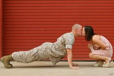 Married To The Military: Engagement Photo Ideas