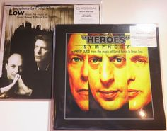 Online veilinghuis Catawiki: Philip Glass - From The Music Of David Bowie & Brian Eno: 'Heroes' Symphony & 'Low' Symphony * 2LP, 180 gram audiophile *