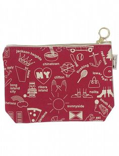 Zip Pouch with my borough featured!