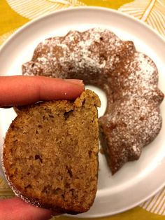 One-Bowl Applesauce Bundt Cake Cake Recipes Bunt Cakes, Cupcake Cakes, Cupcakes, Applesauce Cake Recipe, Applesauce Recipes, Applesauce Cookies, Applesauce Bread, One Bowl Cake Recipe, Just Desserts