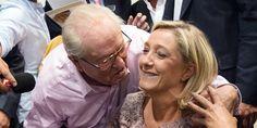 """France. Jean-Marie Le Pen veut que Marine Le Pen se présente aux régionales dans le Nord : """" Physiquement, elle a un côté ch'ti """"; Février 2015"""