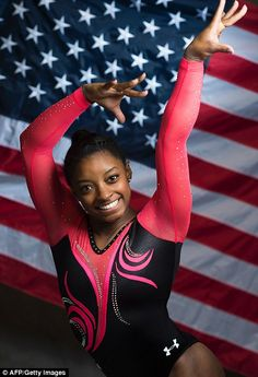The US Olympic Committee said on Saturday that the 19-year-old gymnastics powerhouse was chosen by a vote of fellow Team USA members. Biles said that 'it's an incredible honor to be selected as the flag bearer'
