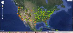 by Michael Snyder   Activist Post The map below comes from the Nuclear Emergency Tracking Center. It shows that radiation levels at radiation monitoring stations all over the country are elevated. As you will notice, this is particularly true along the west coast of the United States. Every single day, 300 tons of radioactive waterContinue Reading