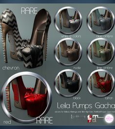 Leila Pumps Gacha Group Gift by Pure Poison