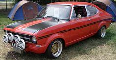 Opel Kadett — Sevenum (NL)   Rally style....