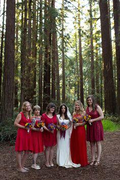 DIY Bohemian Wedding: Sequoia & Andrew