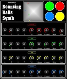 Bouncing Balls Synth - free virtual synthesizer instrument for Windows. http://www.vstplanet.com/News/09/Bouncing%20balls%20synth.htm